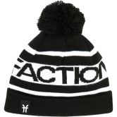 Faction - Logo Pom Pom Beanie schwarz