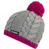 Eisbär - Kiana Pompon Mütze Damen grau pink