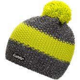 Eisbär - Styler Pompom Mütze anthrazit lime