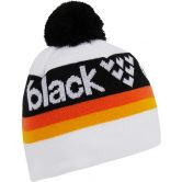 Black Crows - Nomen Beanie weiss gelb schwarz orange