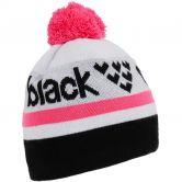 Black Crows - Nomen Beanie pink black white