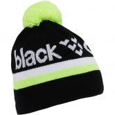 Black Crows - Nomen Beanie schwarz weiss gelb