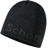 Schöffel - Klinovec Strickmütze Herren asphalt