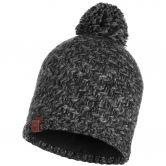 BUFF® - Knitted & Fleece Hat Agna Bommelmütze Unisex schwarz