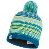BUFF® - Junior Knitted & Fleece Hat Amity Bommelmütze Kinder türkis