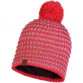 BUFF® - Knitted & Fleece Hat Dana Bommelmütze Unisex blossom red