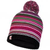 BUFF® - Junior Knitted & Fleece Hat Amity Bommelmütze Kinder multi