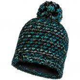 BUFF® - Knitted & Fleece Hat Valya Bommelmütze Unisex türkis