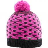 Salomon - Poly Beanie Damen rose violet