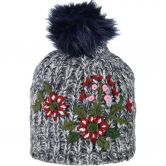 CMP - Knitted Hat black blue