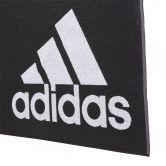 adidas - Handtuch L schwarz weiß