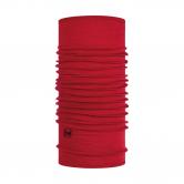 BUFF® - Lightweight Merinowolle Schlauchtuch solid red