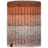BUFF® - Knitted & Fleece Neckwarmer Olya Schlauchschal Unisex brau grau