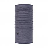 BUFF® - Lightweight Merinowolle Schlauchtuch light denim multi stripes