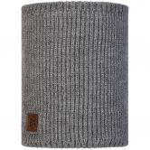 BUFF® - Knitted & Fleece Neckwarmer Rutger Unisex melange grey