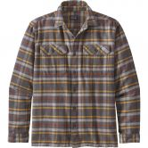 Patagonia - Fjord Flannel Hemd Herren independence forge grey