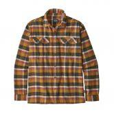 Patagonia - Fjord Flannel Shirt Men observer wren gold