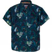 Superdry - Miami Loom Hemd Herren tropical bird indigo