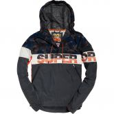 Superdry - Ryley Overhead Trainingsjacke Herren camo charcoal