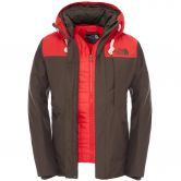 The North Face® - Himalayan Less 80g Jacket Herren Black Ink Green / Red