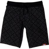 Superdry - All Over Print Washed Shorts Herren schwarz
