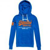 Superdry - Premium Goods Duo Lite Hoodie Herren eagle blue