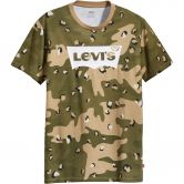 Levis - Graphic T-Shirt Herren camo