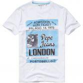 Pepe Jeans - Derek T-Shirt Herren optic white