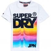 Superdry - Retro Mid Weight T-Shirt Herren optic