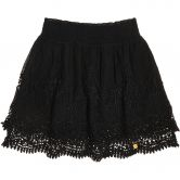 Superdry - Amanda Lace Skirt Women black