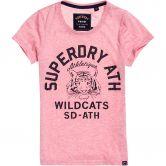 Superdry - Superdry Mascot T-Shirt Damen abigail blush marl