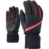 Ziener - Kasada AS® Lady Gloves Women black fiery red