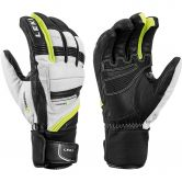 LEKI - Griffin Prime S Glove Men black white yellow