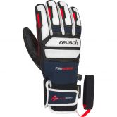 Reusch - Alexis Pinturault GTX® + Gore Grip Gloves Men dress blue fire red