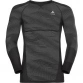 Odlo - Performance Blackcomb Crew Longsleeve Herren black