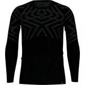 Odlo - Natural Kinship Warm Crew Longsleeve Men black melange