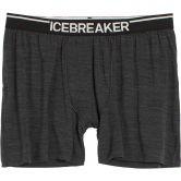 Icebreaker - Anatomica Boxers Herren jet hthr black