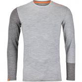 ORTOVOX - 185 Rock´n´Wool Longsleeve Men grey blend