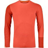 ORTOVOX - 185 Rock´n´Wool Longsleeve Herren crazy orange