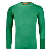 ORTOVOX - 185 Rock´N´Wool Longsleeve Herren irish green