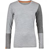 ORTOVOX - 185 Rock´n´Wool Longsleeve Damen grey blend