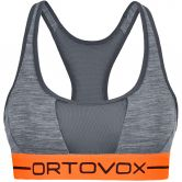 ORTOVOX - 185 Rock´n´Wool Sport Top Women dark grey blend