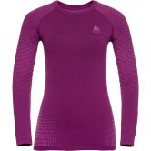 Odlo - Performance Warm ECO Unterhemd Damen charisma purple cactus flow