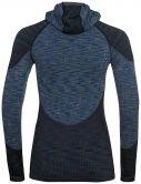 Odlo - Blackcomb Longsleeve Damen blue tattoo space dye
