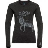 Odlo - Alliance Longsleeve Damen dark grey melange