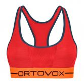 ORTOVOX - 185 Rock'n'Wool Sport Top Damen hot coral