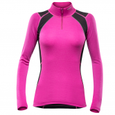 Devold - Energy Zip Neck Damen fuchsia