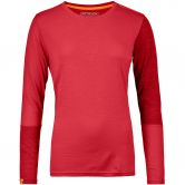 ORTOVOX - 185 Rock´n´Wool Longsleeve Damen hot coral