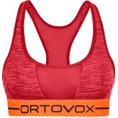 ORTOVOX - 185 Rock´n´Wool Sport Top Damen hot coral