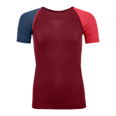 ORTOVOX - 120 Comp Light Short Sleeve Women dark blood